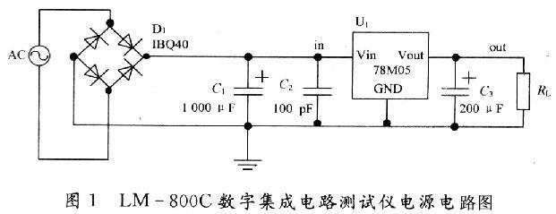 技术交流  集成电路测试仪可用来测量集成电路的好坏,在电子实验室中