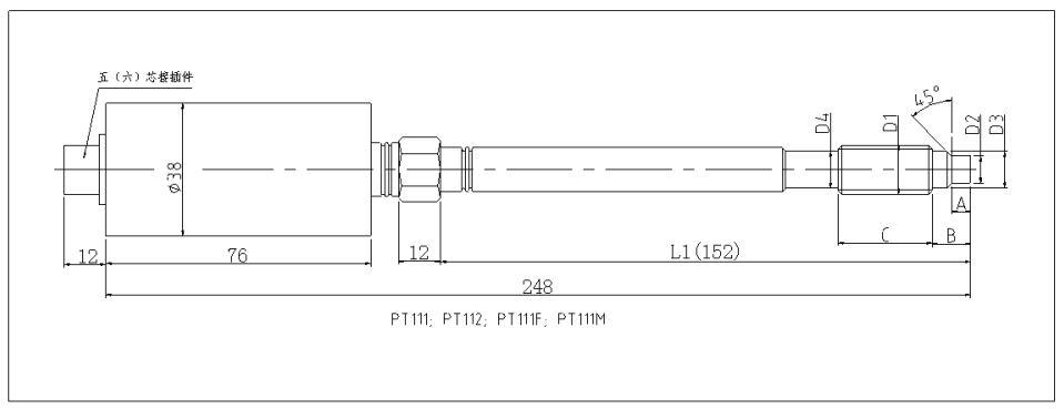 pt111高温压力传感器