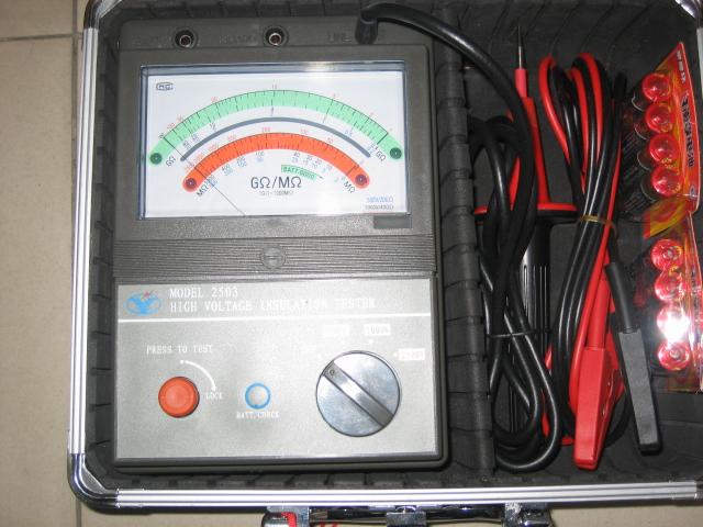 绝缘电阻测试仪使用方法