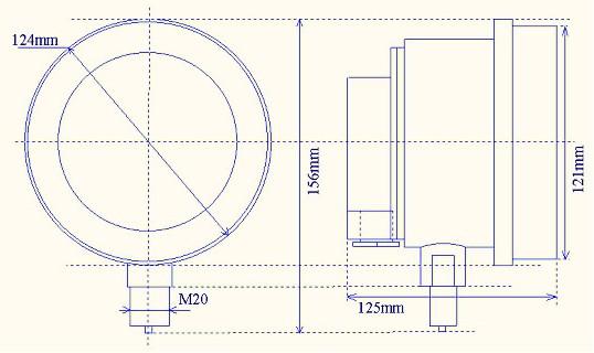 一、用 途 本仪表用在环境有爆炸性混合物的危险场所,用来测量对铜及铜合金,普通碳钢等无腐蚀性的非结晶,非凝固介质的压力(负压)。 通过接点装置与具有相应防爆性能的电气件配套使用。对被测介质压力,有自动控制、报警、信号远传等多种功能。