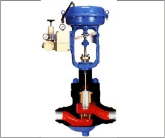 德国莱克进口[LIK]气动薄膜直通单座调节阀采用顶导向结构,配用多弹簧执行机构。具有结构紧凑、重量轻、动作灵敏、流体通道呈S流线型、压降损失小、阀容量大、流量特性精确、拆装方便等优点。广泛应用于精确控制气体、液体、蒸汽等介质,工艺参数如压力、流量、温度、液位保持在给定值。特别适用于允许泄漏量小阀前后压差不大的工作场合。