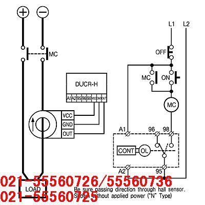 z7 220v直流电子式欠电流继电器  韩国三和ducr-s/ducr-h 保  护 &nbs