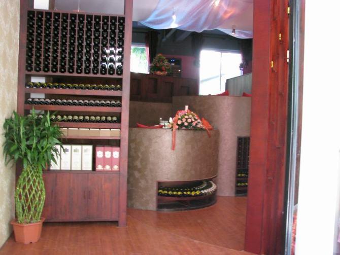 红酒橱窗装修效果图大全 欧式