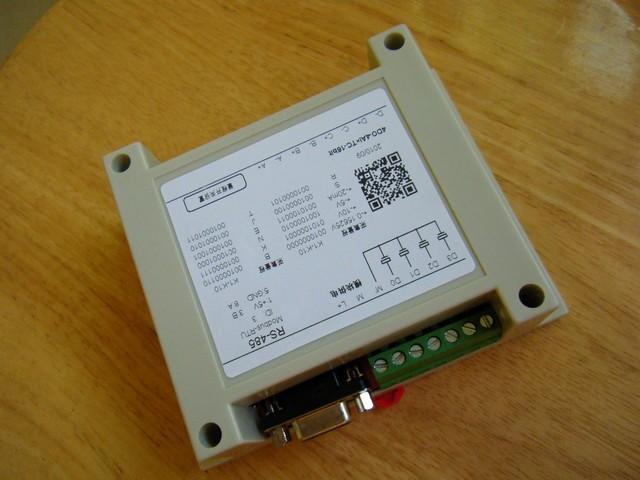 16位精度4通道热电偶电压电流采集模块可连接电脑及三菱西门子