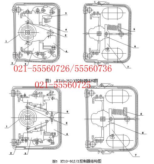 kt10-25j/15f交流凸轮控制器-kt10-25j/15f交流凸轮控制器