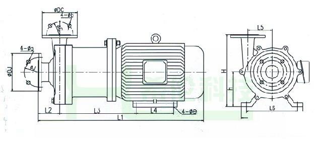 sd-75cq交流伺服电动机接线图