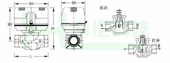 电动阀控制电路图分享展示图片