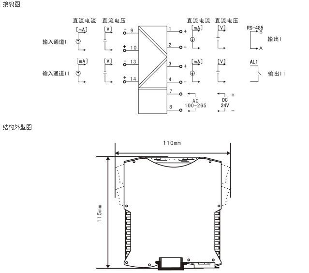 nhr-m41智能电压/电流隔离器产品介绍