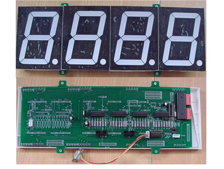 led_ad-01-带模数ad转换的温度湿度重量压力led数码管