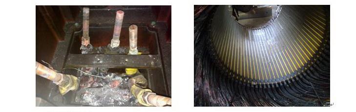丹佛斯变频器vlt6500显示过电流故障分析