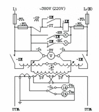 大电流发生器使用方法和工作原理图