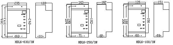 hdl6 综合漏电保护器(一体式)