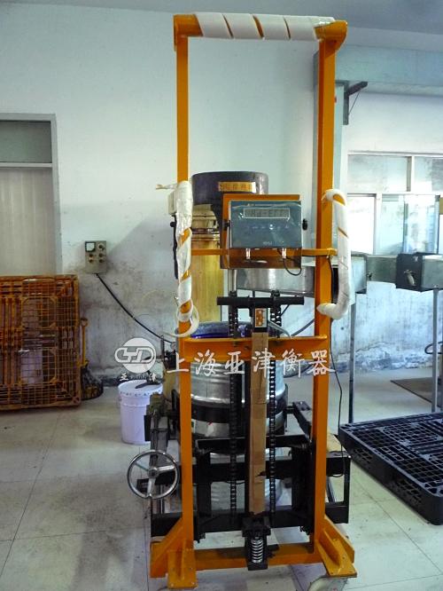 电子油桶秤技术参数: *最大称量范围(300kg)*最小
