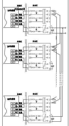 防爆二通接线图