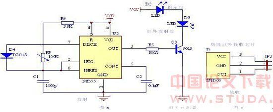 脉冲发生器由ne555构成