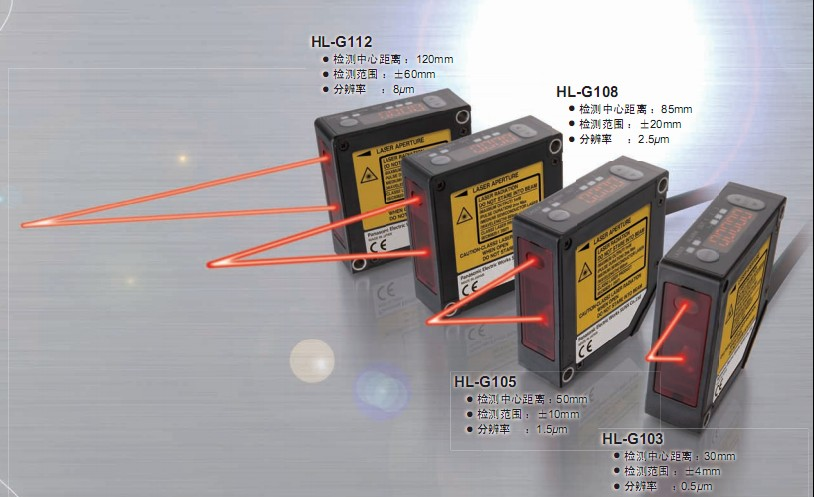 cmos激光位移传感器