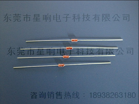 mf58二极管式玻璃封装ntc热敏电阻; 玻璃封装ntc热敏电阻;; 大量供应