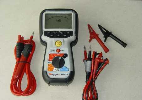 绝缘电阻测试仪mit400