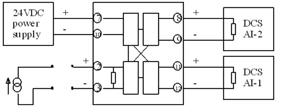 信号调理器的接线图
