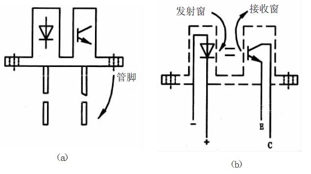 隔离式光电开关外形及内部电路图